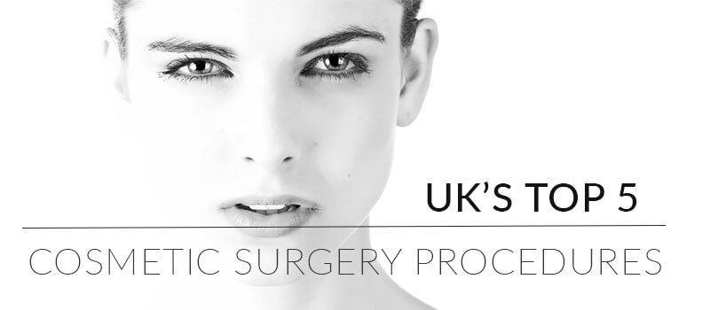 Top 5 Cosmetic Surgery Procedures