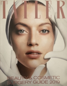 Mr Paul Tulley in Tatler Beauty and Cosmetic Surgery Guide 2019